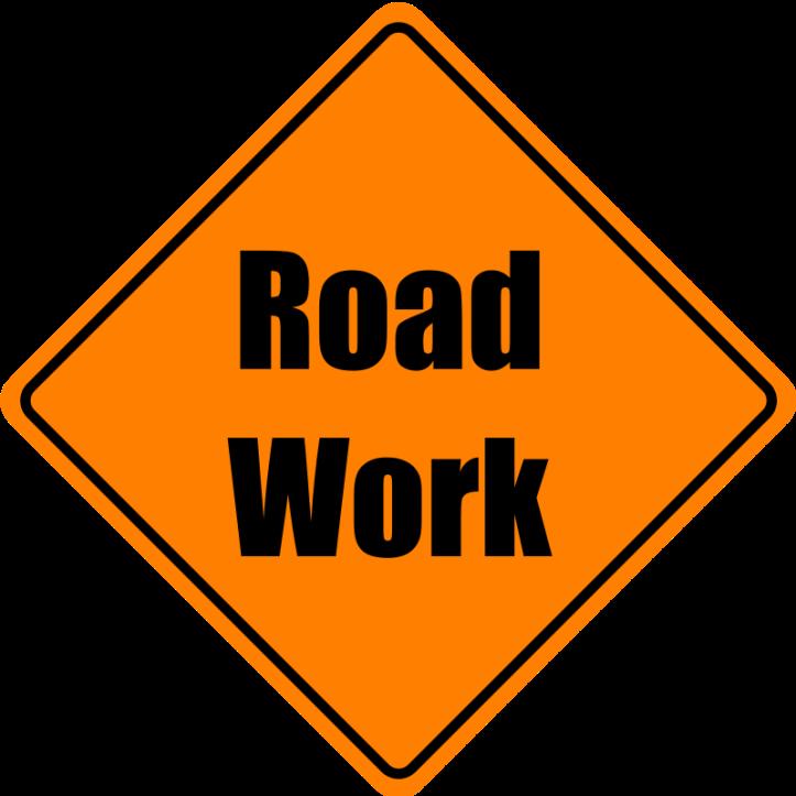 Roadwork clip art