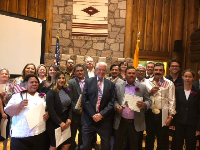 Naturalization Ceremony, October 2018
