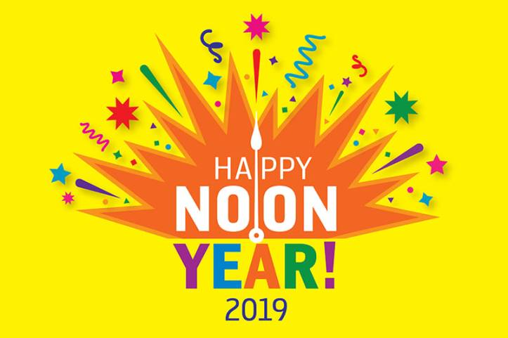 Happy Noon Year