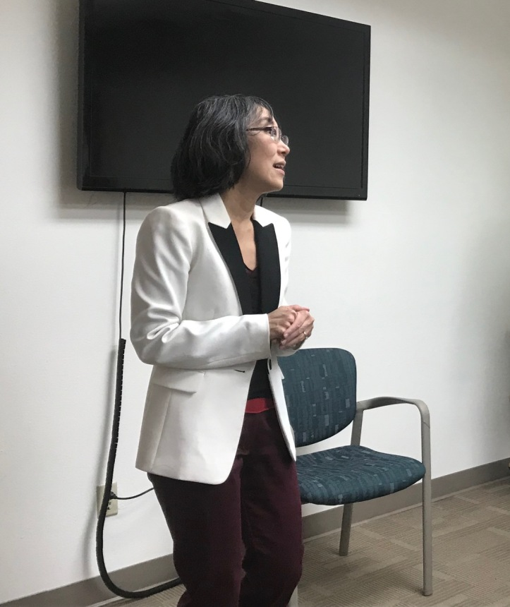 Lisa Shin introduces Paul Gessing.jpg