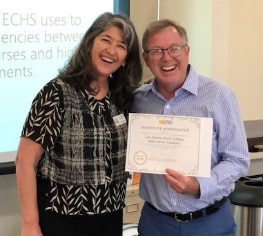 ECHS designation certificate awarded
