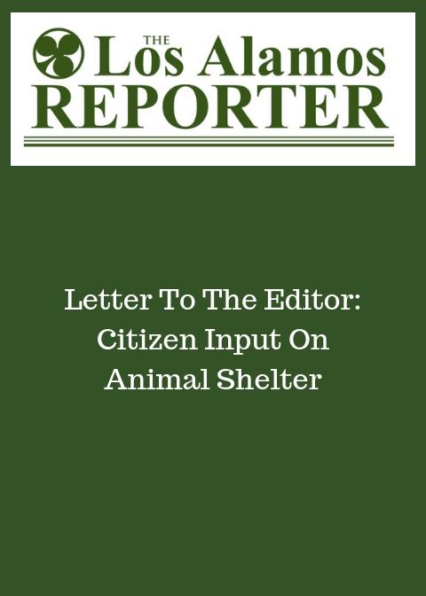 Citizen input on Animal Shelter.jpg