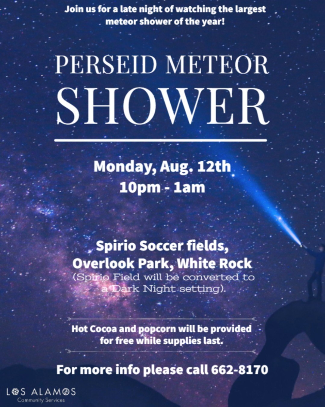 Look Up! Perseid Meteor Shower this weekend
