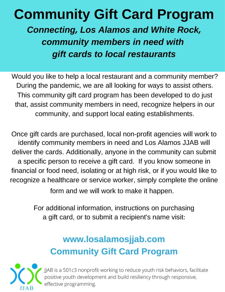 Community Gift Card Program