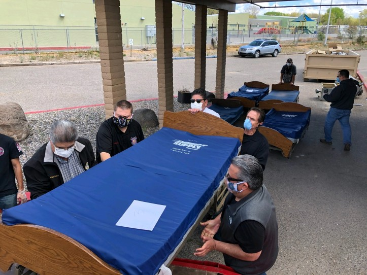 Rio Arriba County Donates Beds And Ppe To Assist Navajo Nation With Covid 19 Response Los Alamos Reporter