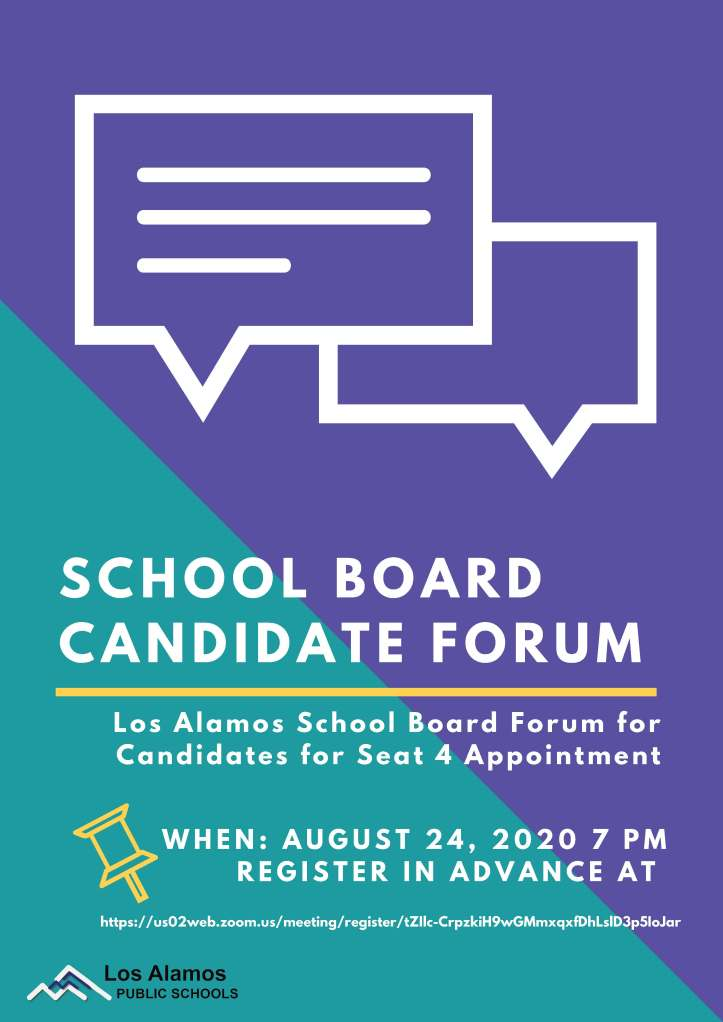 School Board Vacancy Poster