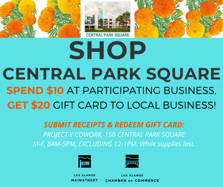 SPEND $10 AT PARTICIPATING BUSINESS, GET $20 GIFT CARD TO LOCAL BUSINESS!