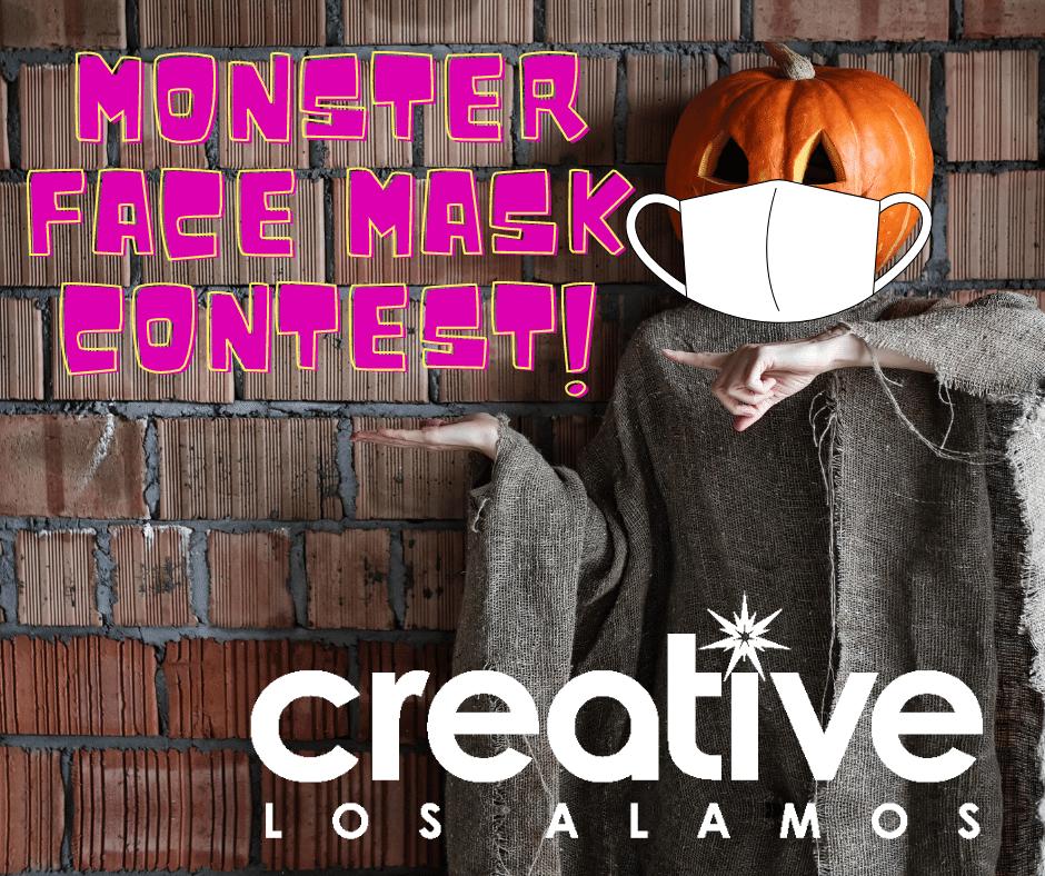 Los Alamos Halloween 2020 Los Alamos Creative District Hosts Halloween Monster (Face) Mask